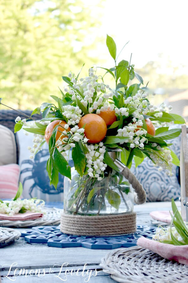 Add Joy to Your Table with Floral and Fruit