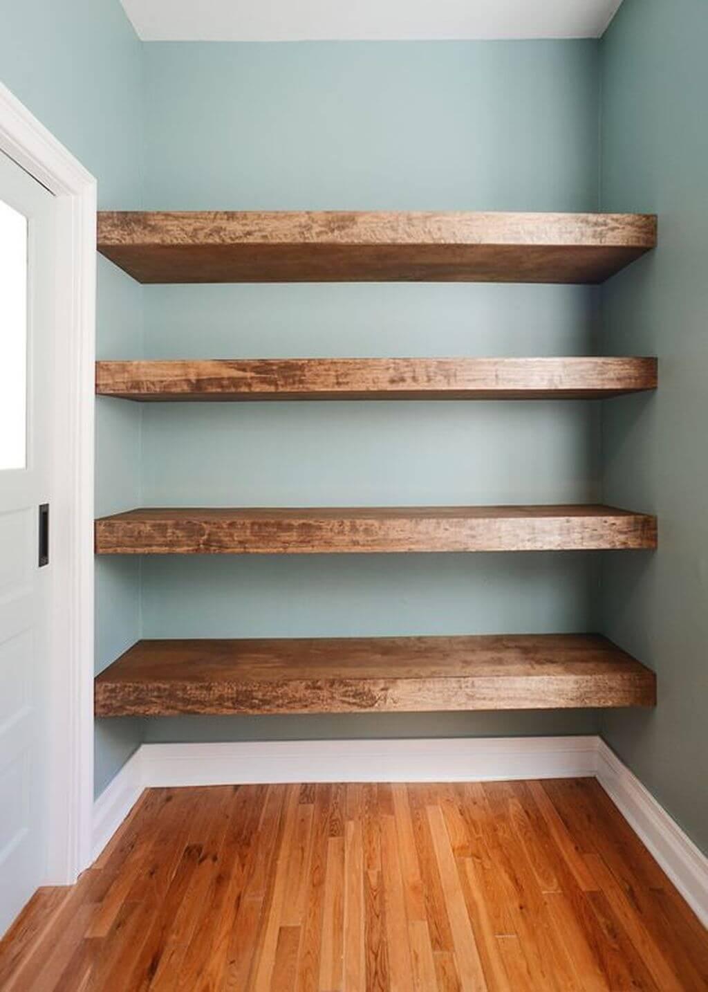 Bold Hallway Storage Shelving Ideas