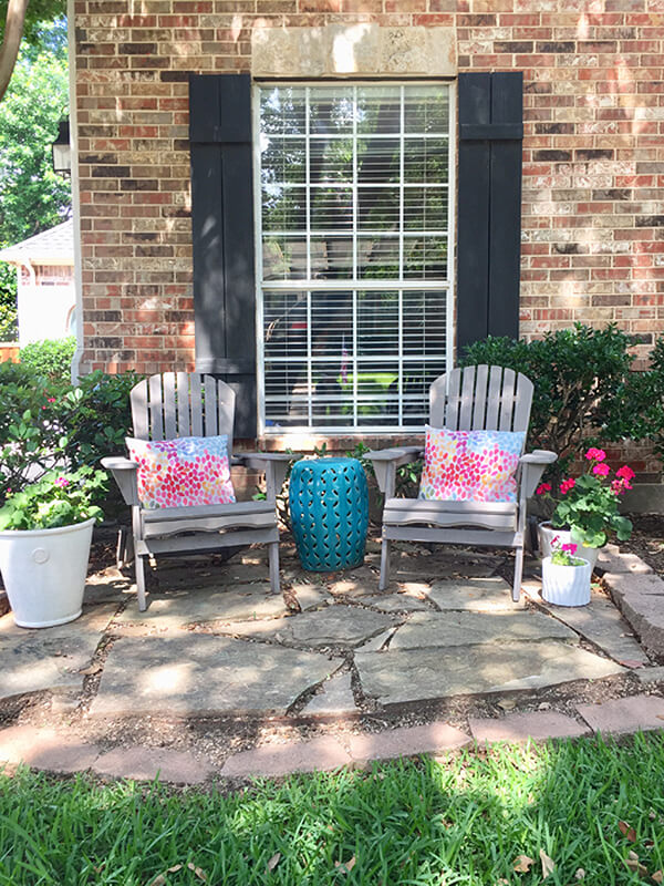 Create Your Own Garden Seating