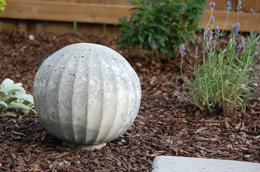 Concrete Garden Globes to Enhance Your Outdoor Space