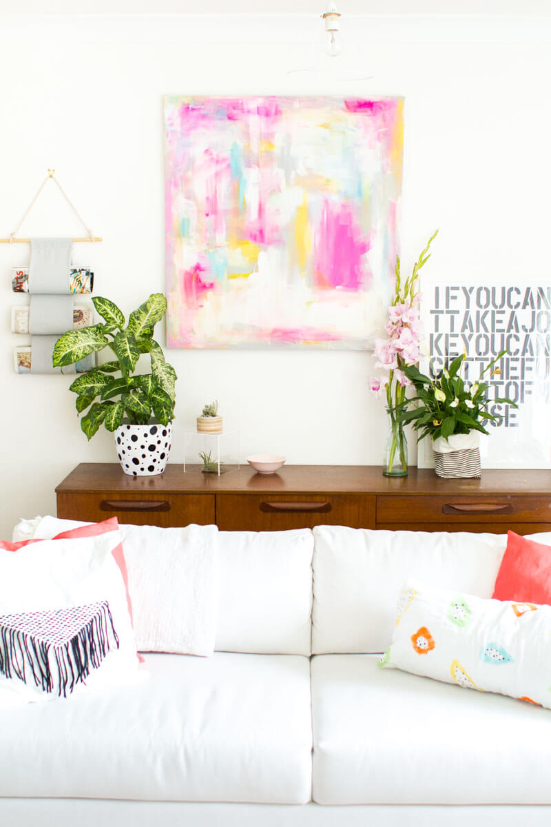 Colorful Abstract Wall Art Piece