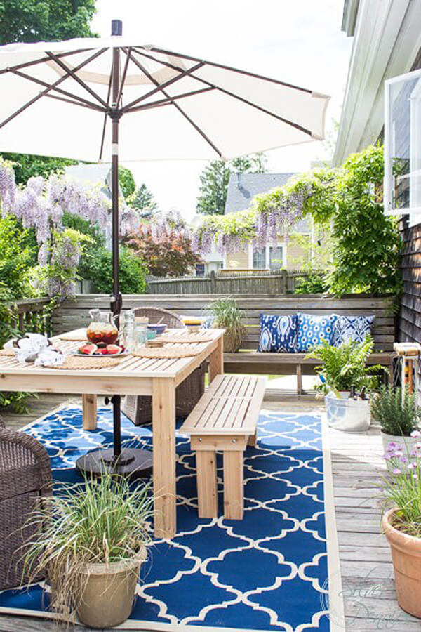 Bright and Summery Patio Look