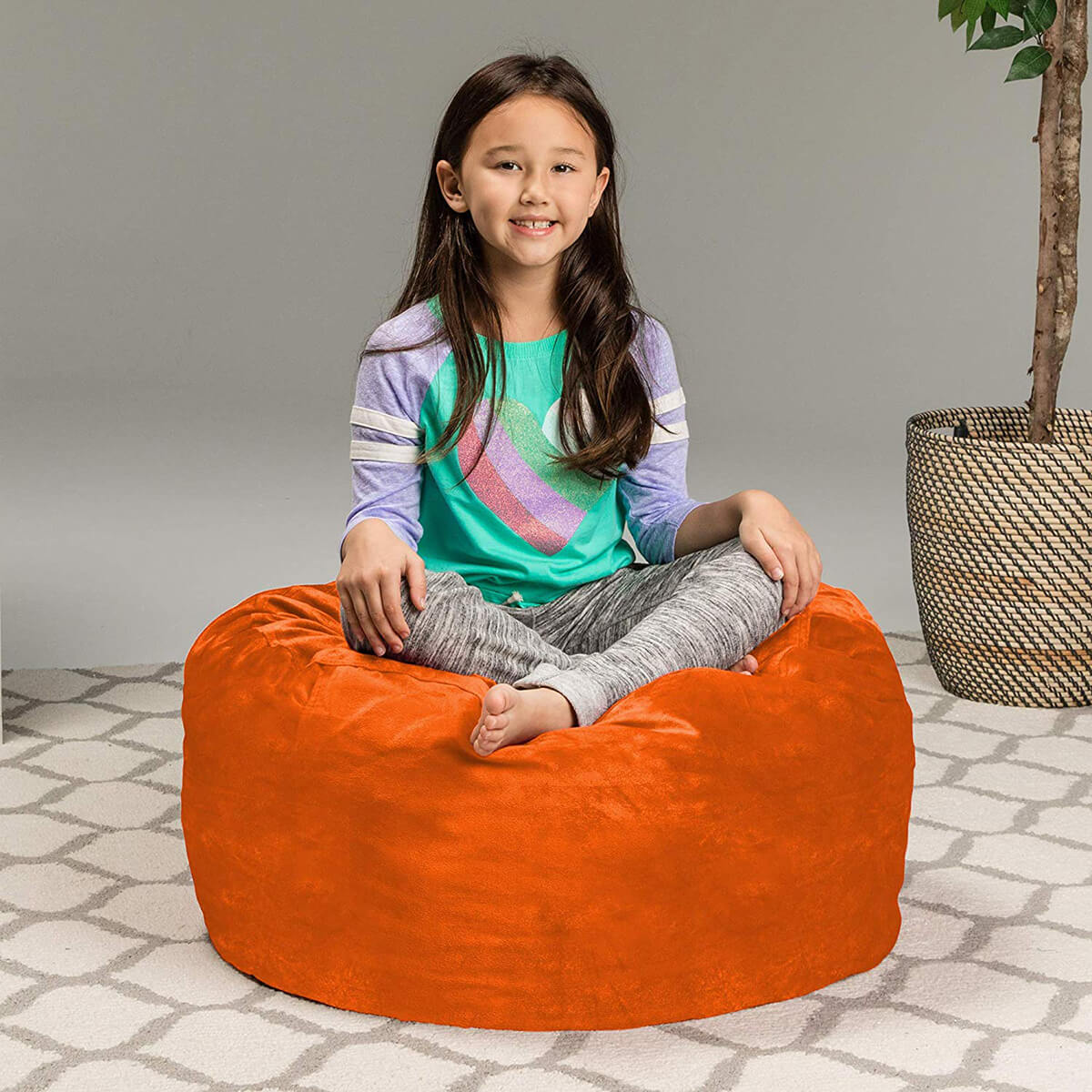 Sofa Sack Memory Foam Bean Bag Chair for Kids