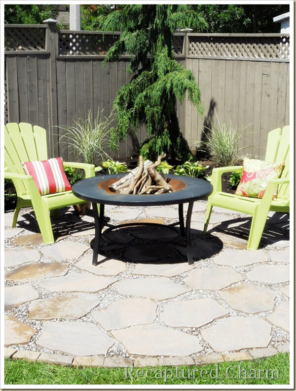 DIY Backyard Fire Pit Project