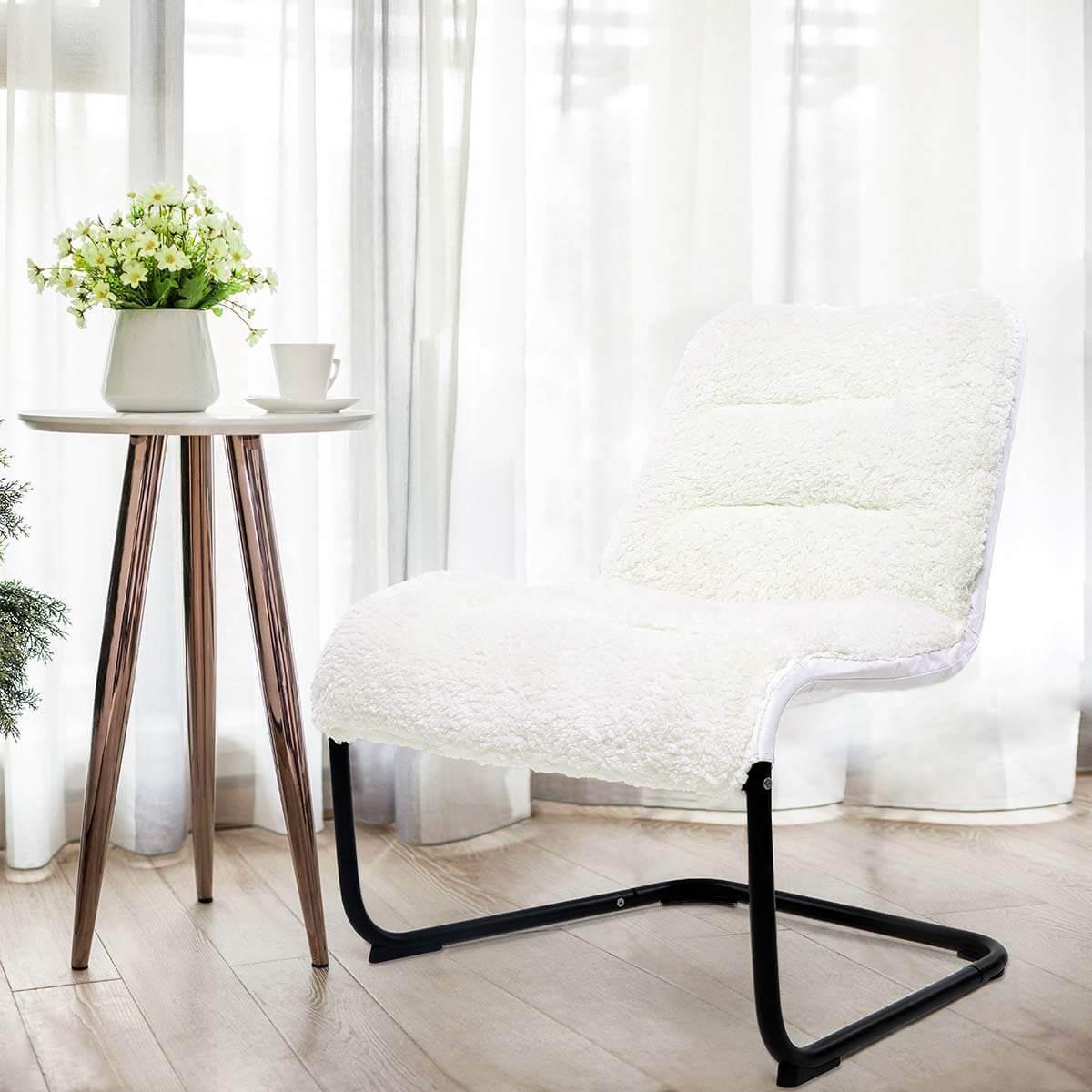 Stylish Postal Scribbles Slipper Chair
