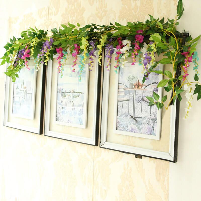 Natural Flower Art Frame Decoration