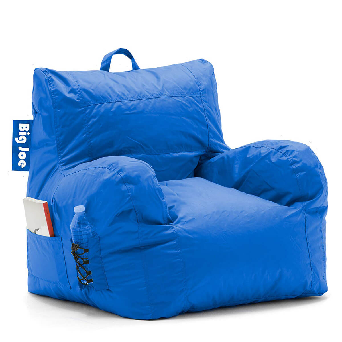Big Joe Dorm Bean Bag Chair in Sapphire