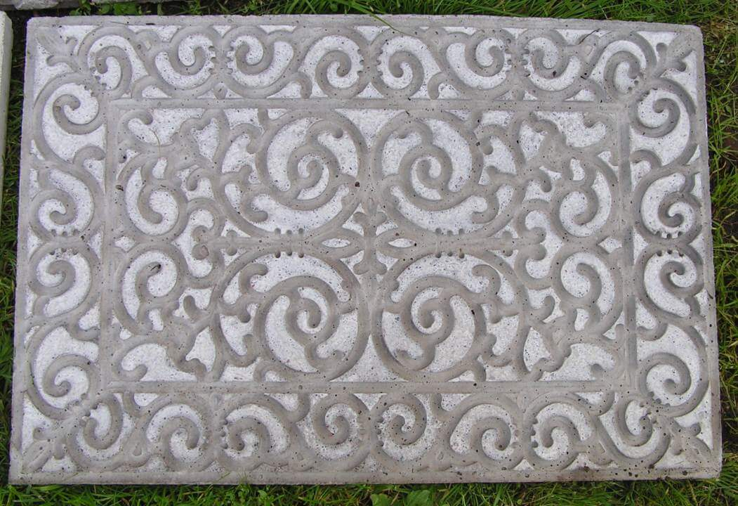 Upcycle a Rubber Doormat into a Concrete Masterpiece