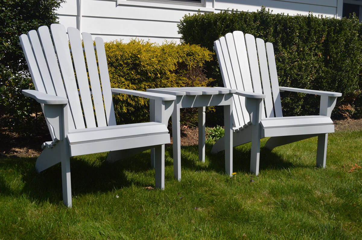 Simple and Slim Adirondack Set