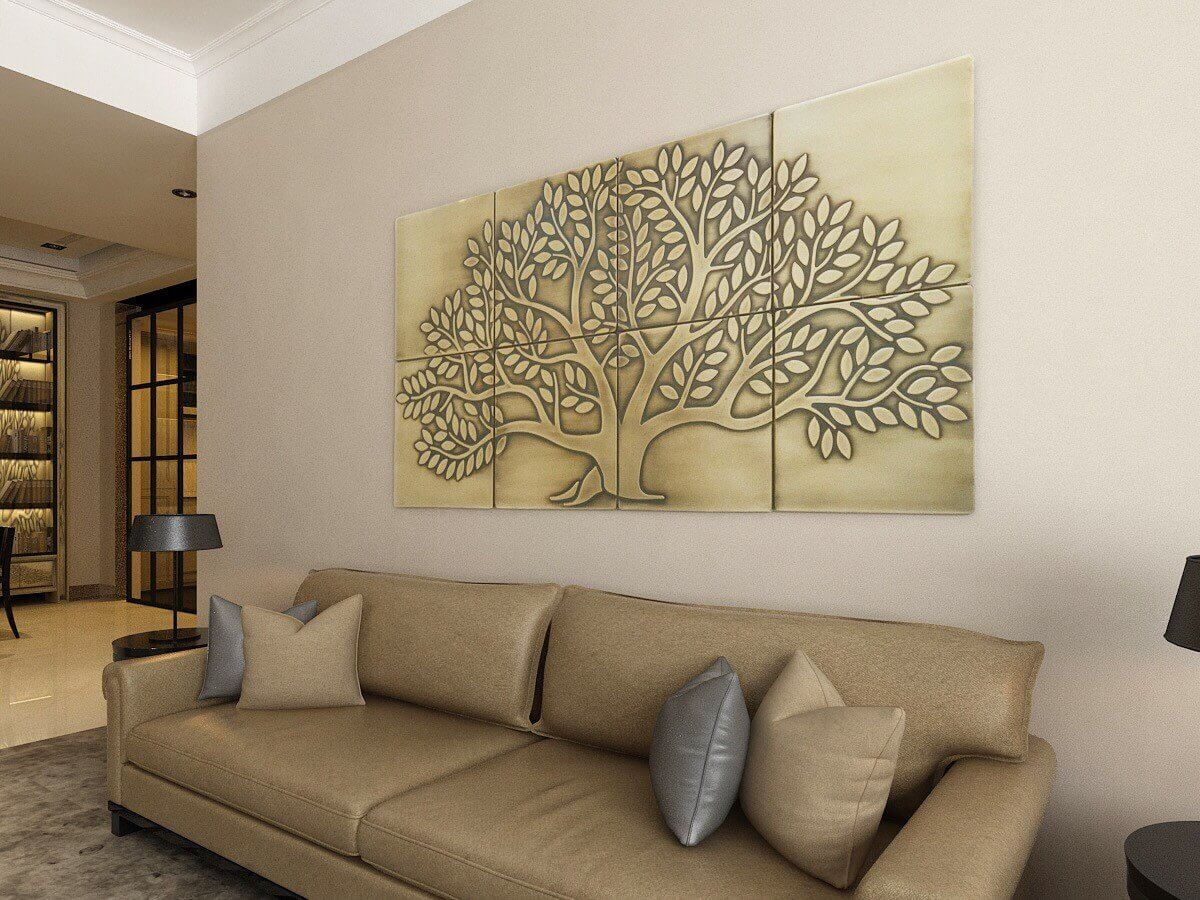 18 living room wall art ideas homebnc