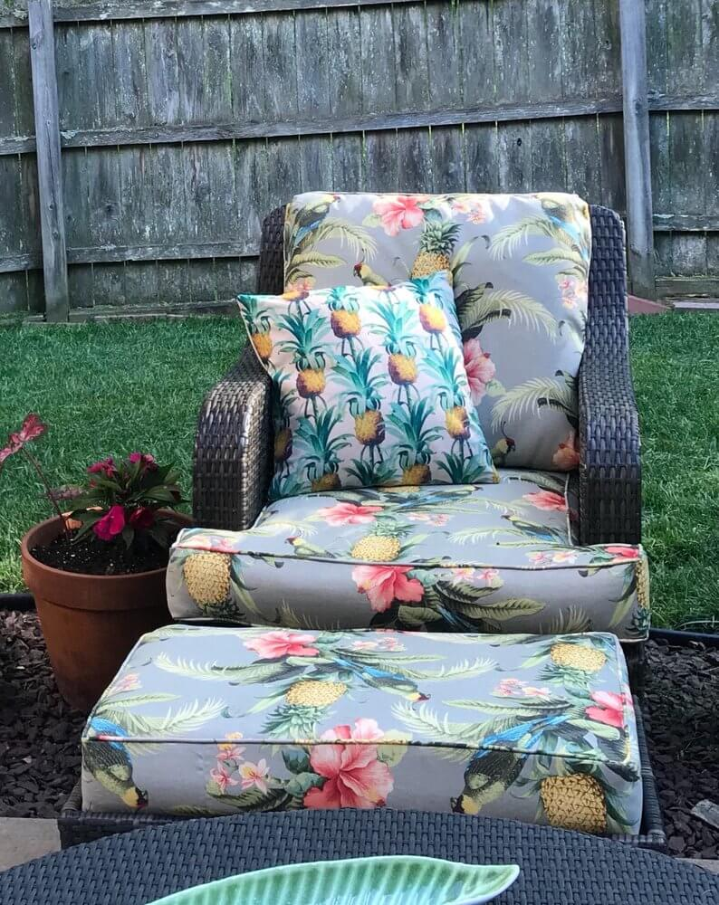Custom Cushion Covers for Outdoor Furniture