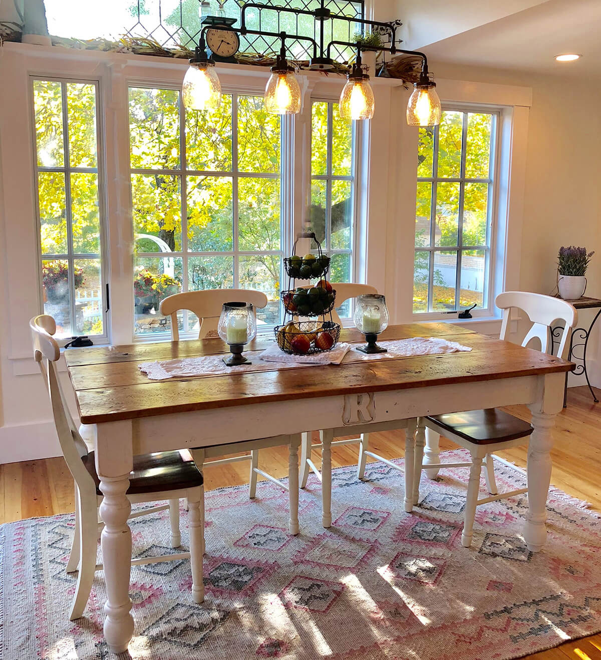 Beautiful Custom Farmhouse Family Table
