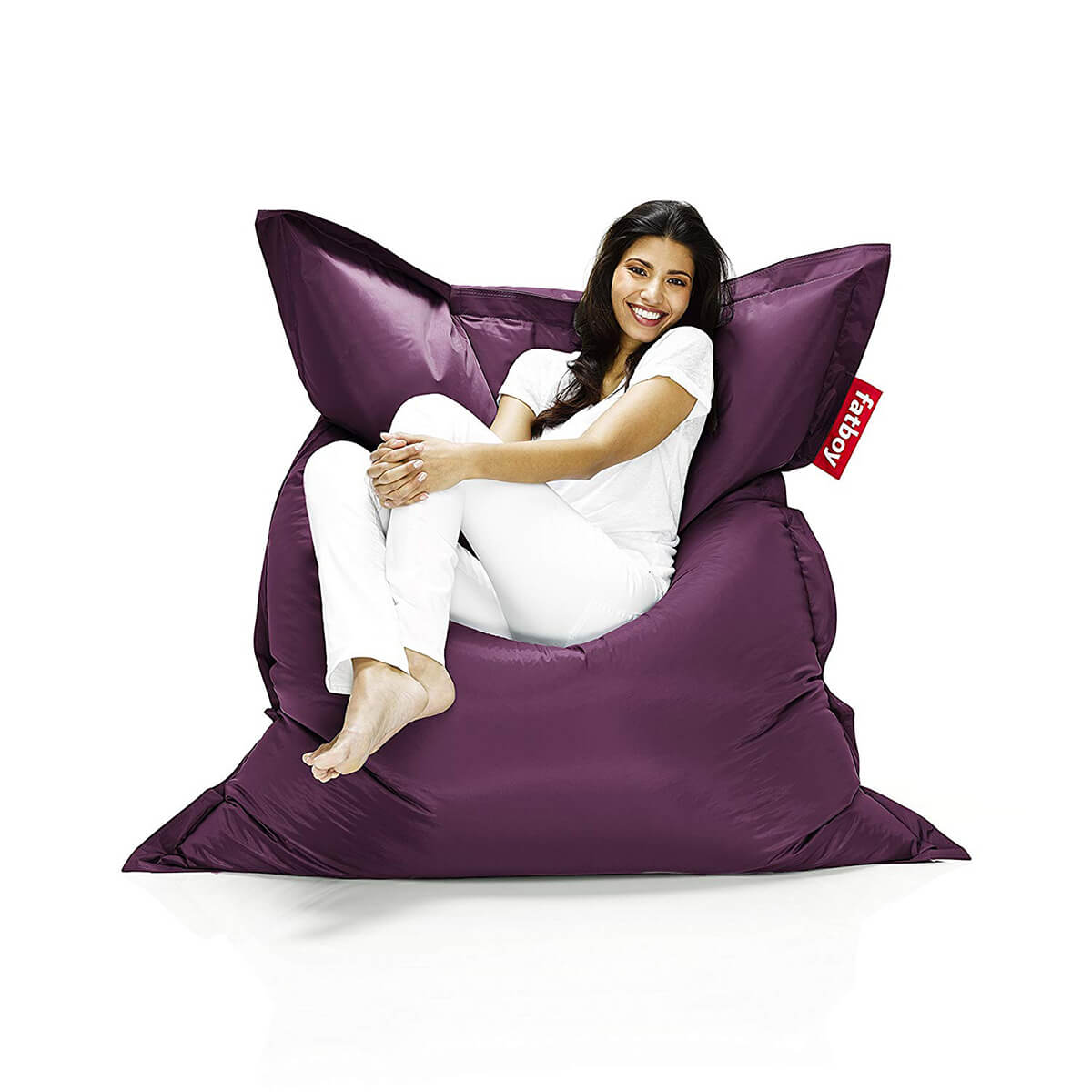 Fatboy The Original Bean Bag in Dark Purple