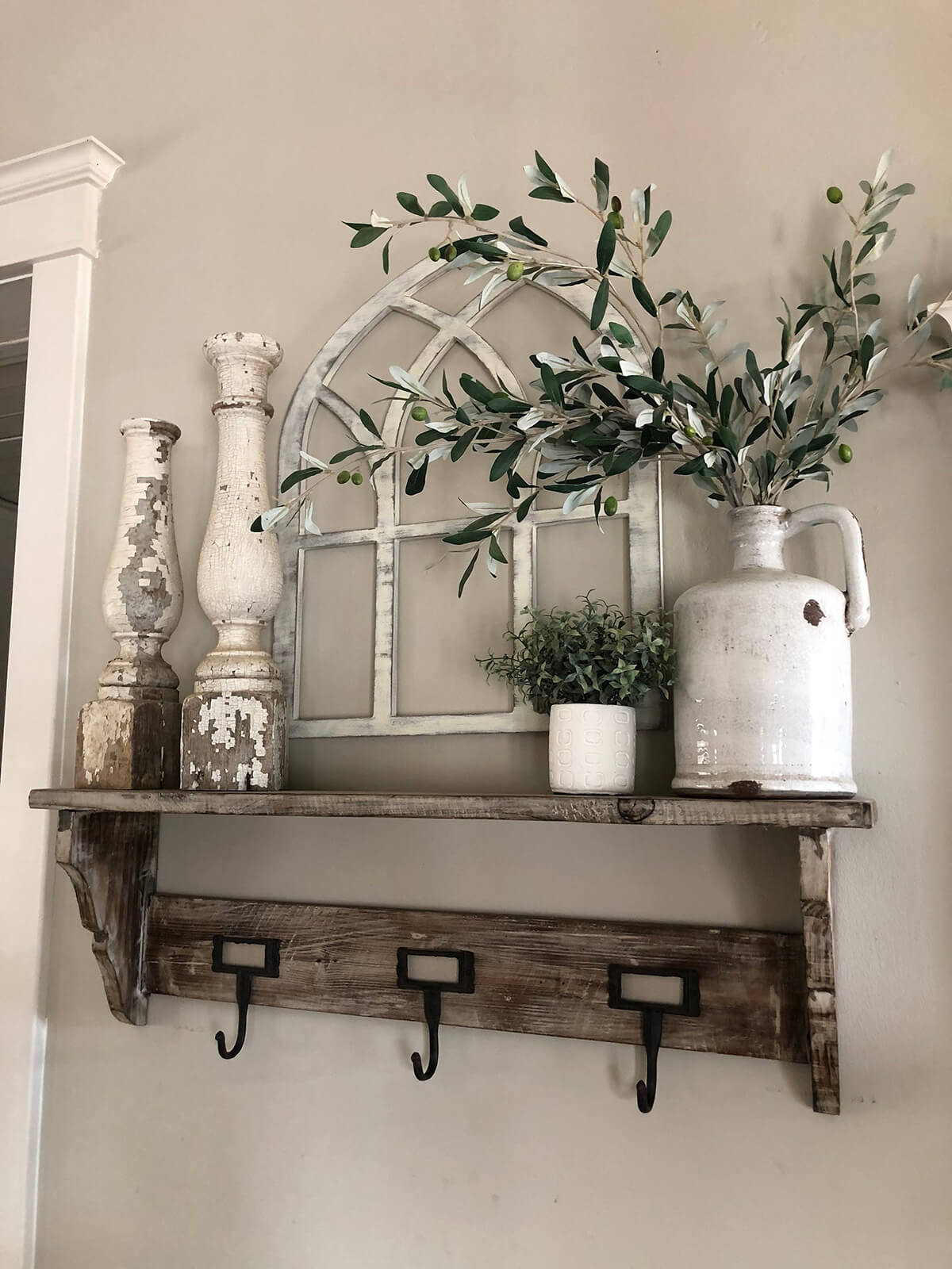 Romantic Rustic Mantle Décor Ideas