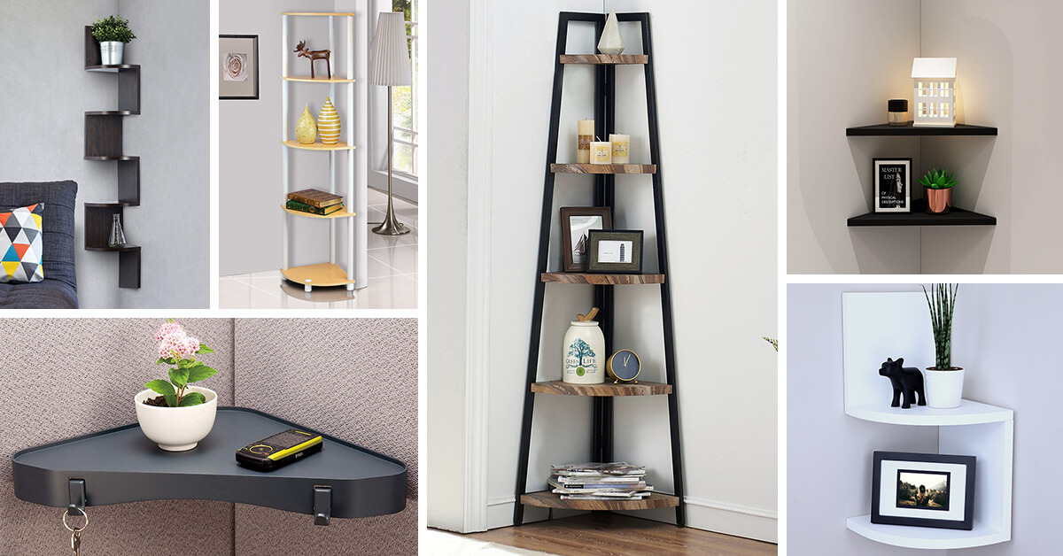 26 Best Corner Shelf Ideas And Designs