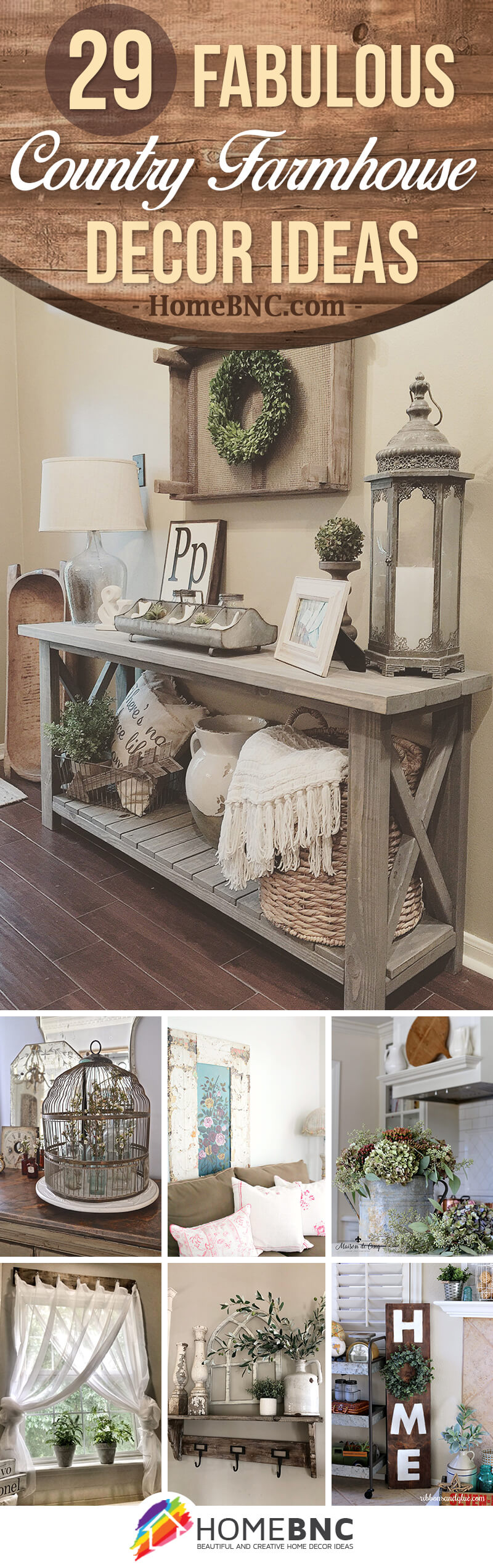 Country Farmhouse Decor Ideas