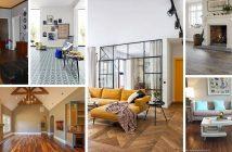 Living Room Flooring Designs