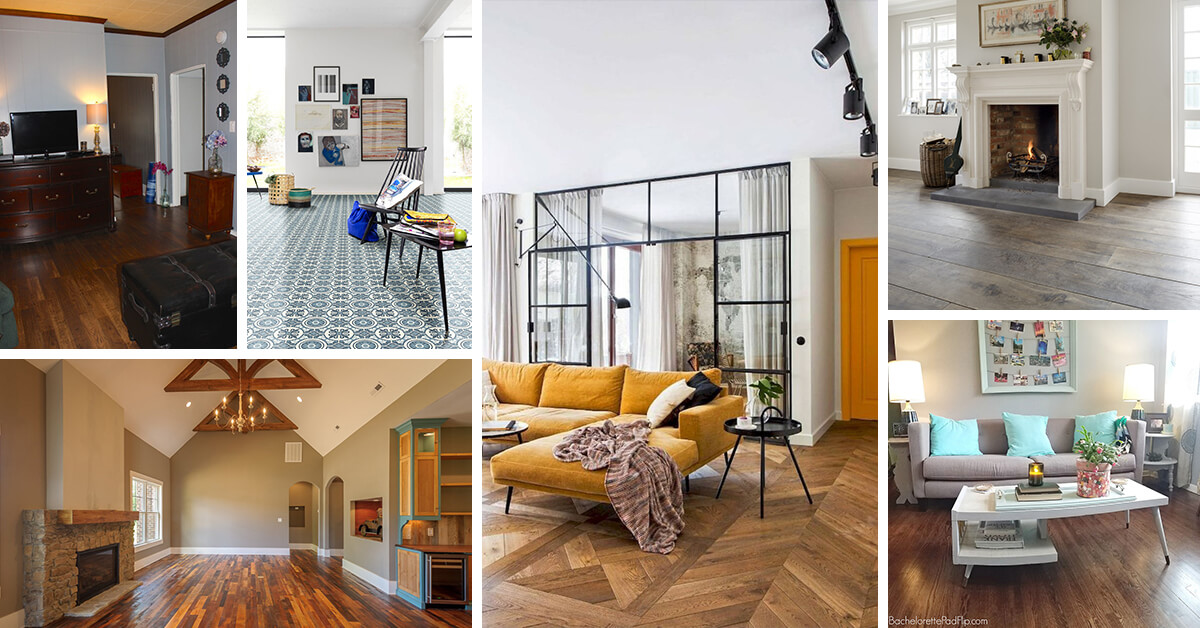 9 Best Living Room Flooring Ideas And Designs For 2021
