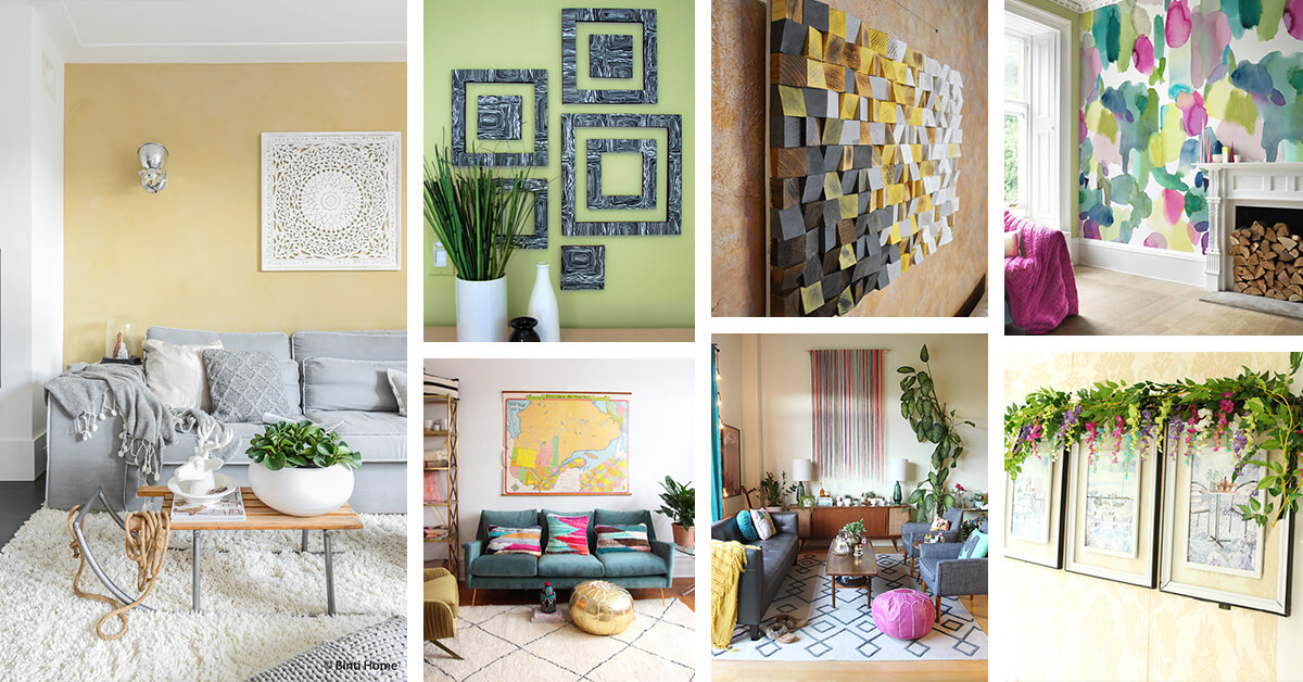 living room wall art ideas featured homebnc