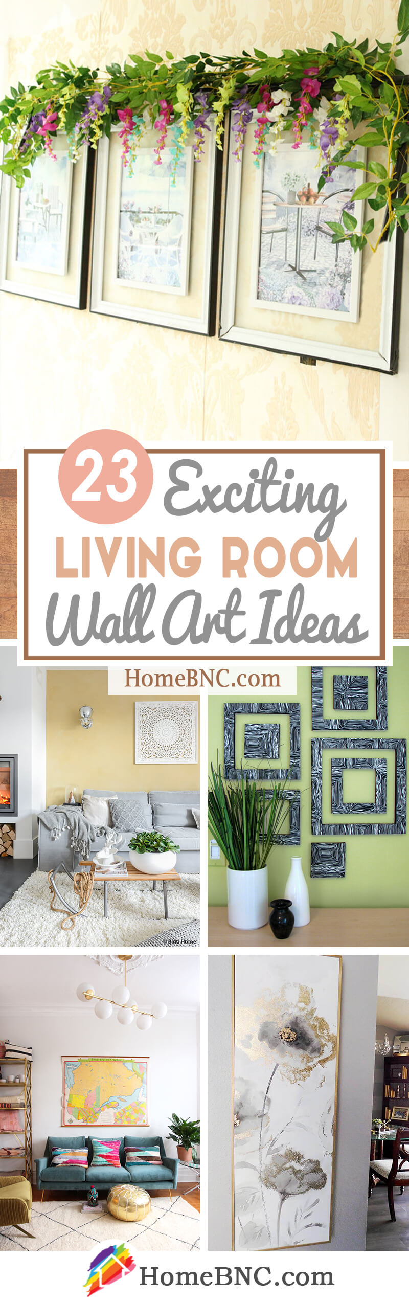 23 Best Living Room Wall Art Ideas And Designs For 2020