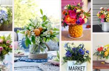 Summer Flower Arrangements