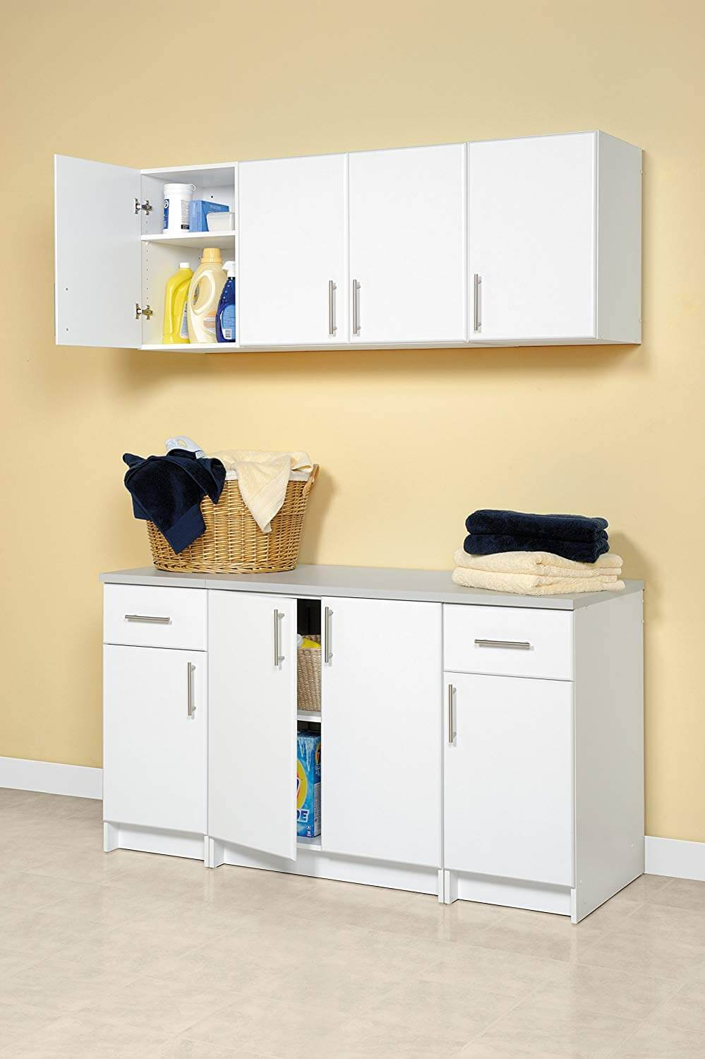 Two Door Stackable Wall Cabinet