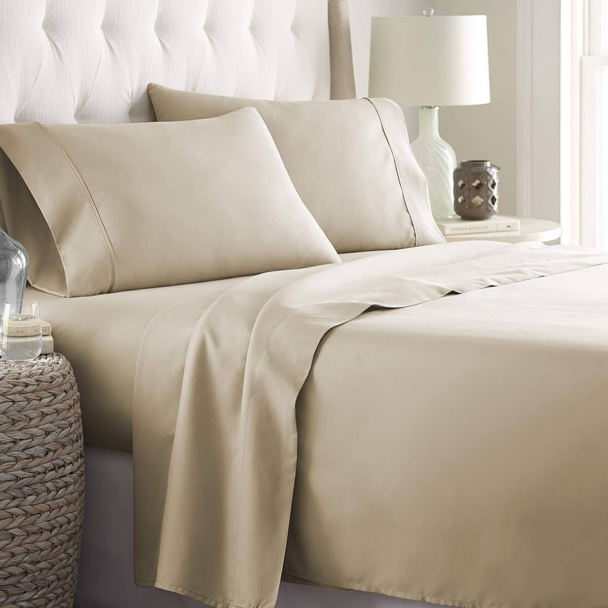 Hotel Luxury Bed Sheets Platinum Collection