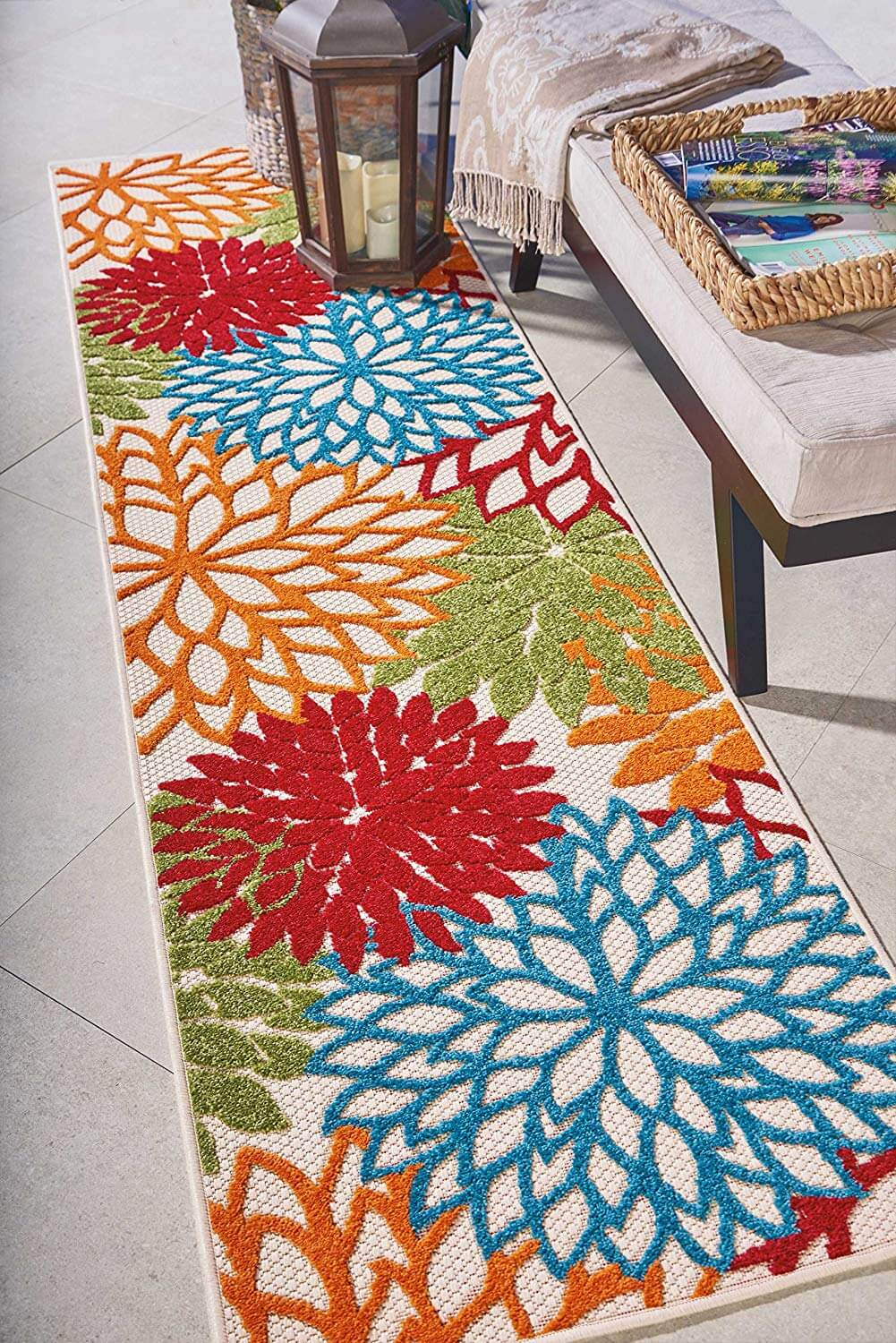 Bright and Colorful Indoor/Outdoor Rug