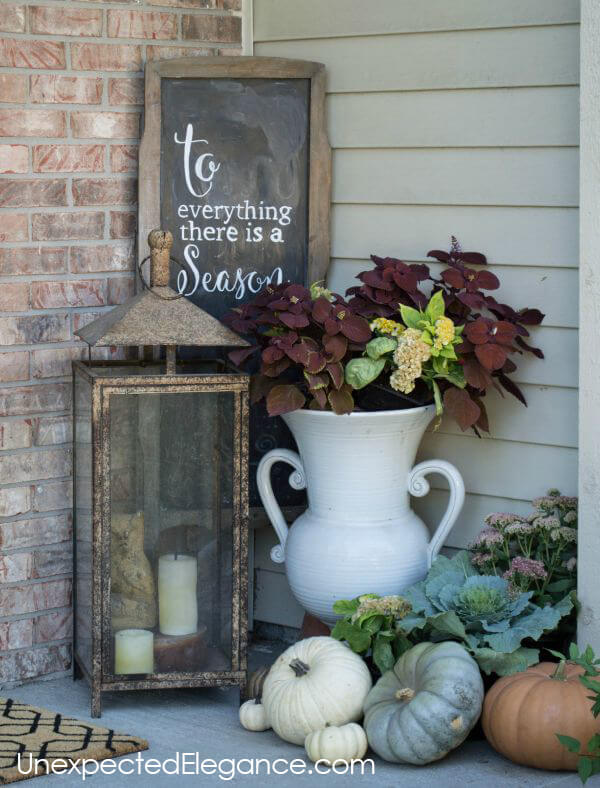 Add a Cozy Corner Vignette