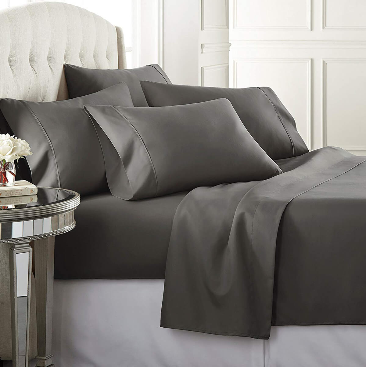 Hotel Luxury Soft 6 Piece Premium Bed Sheets Set