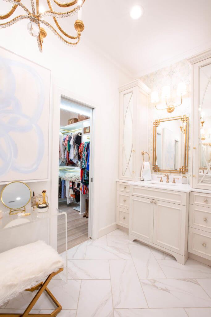 Classic, Timeless Marble Bathroom Flooring