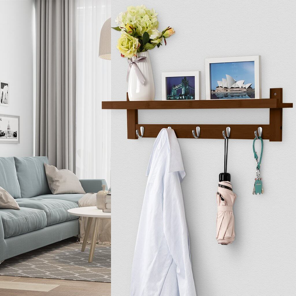 Langria Coat Rack Shelf Lets You Decorate