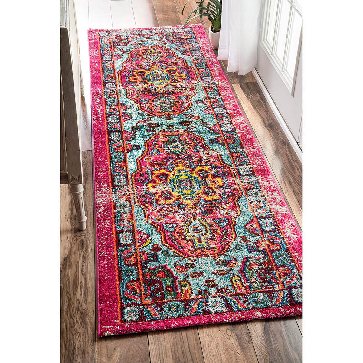 Beautiful Rug with a Boho Chic Vibe