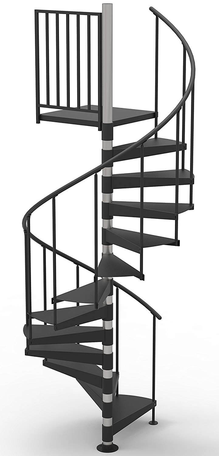 Steel Primed Spiral Stair Kit