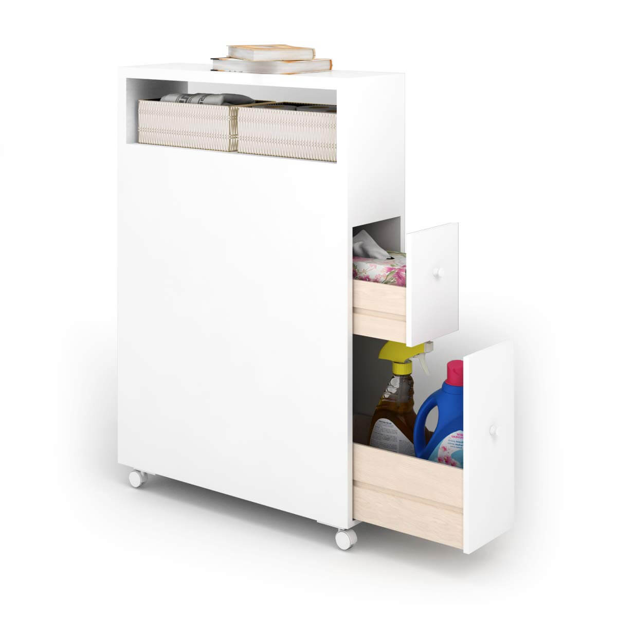 Space Saving Cabinet with Storage
