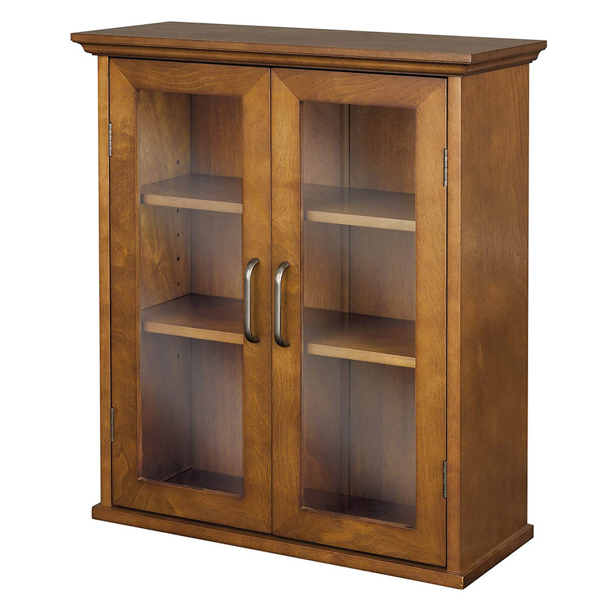 Elegant Oak Wood Wall Cabinet