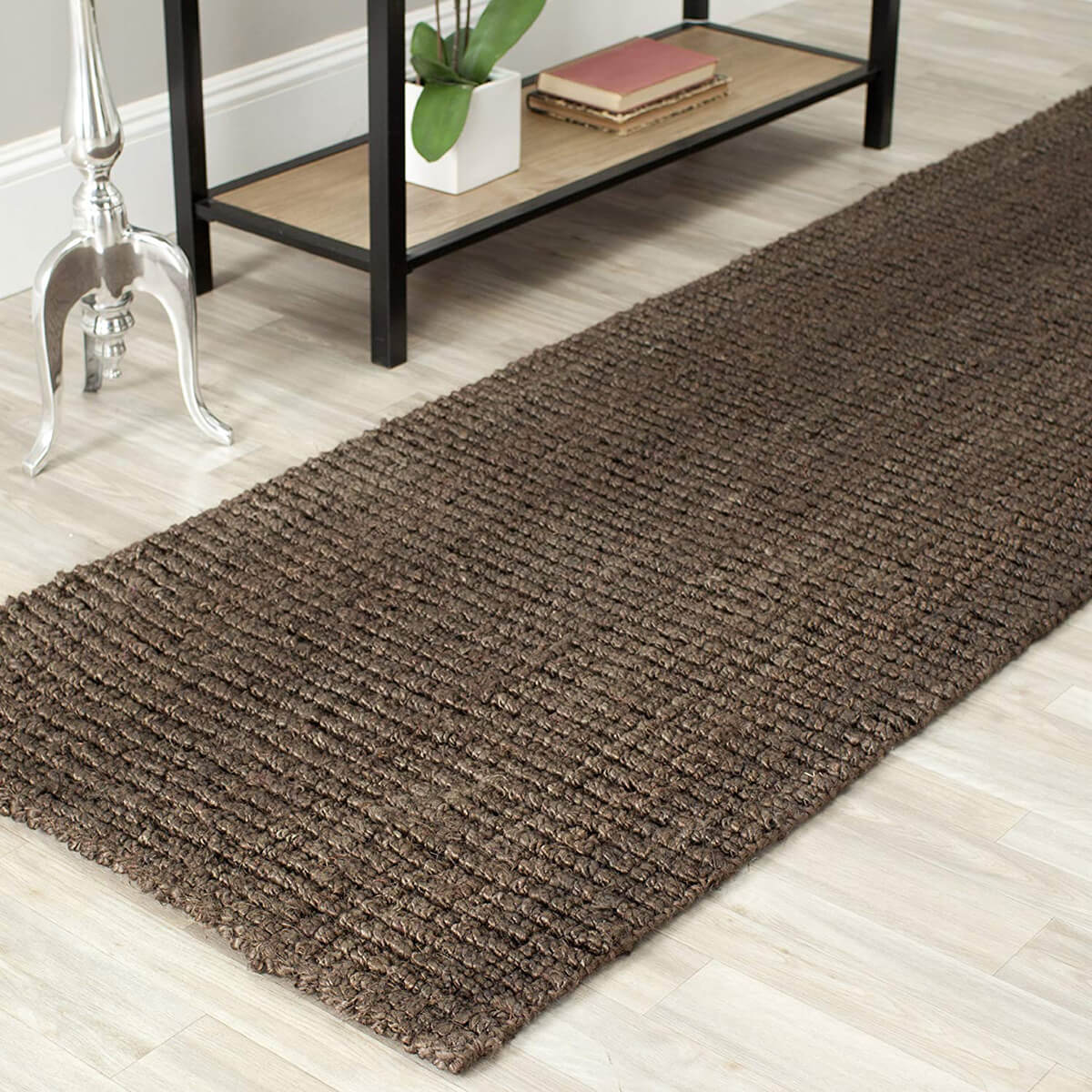 Small Woven Natural Jute Rug