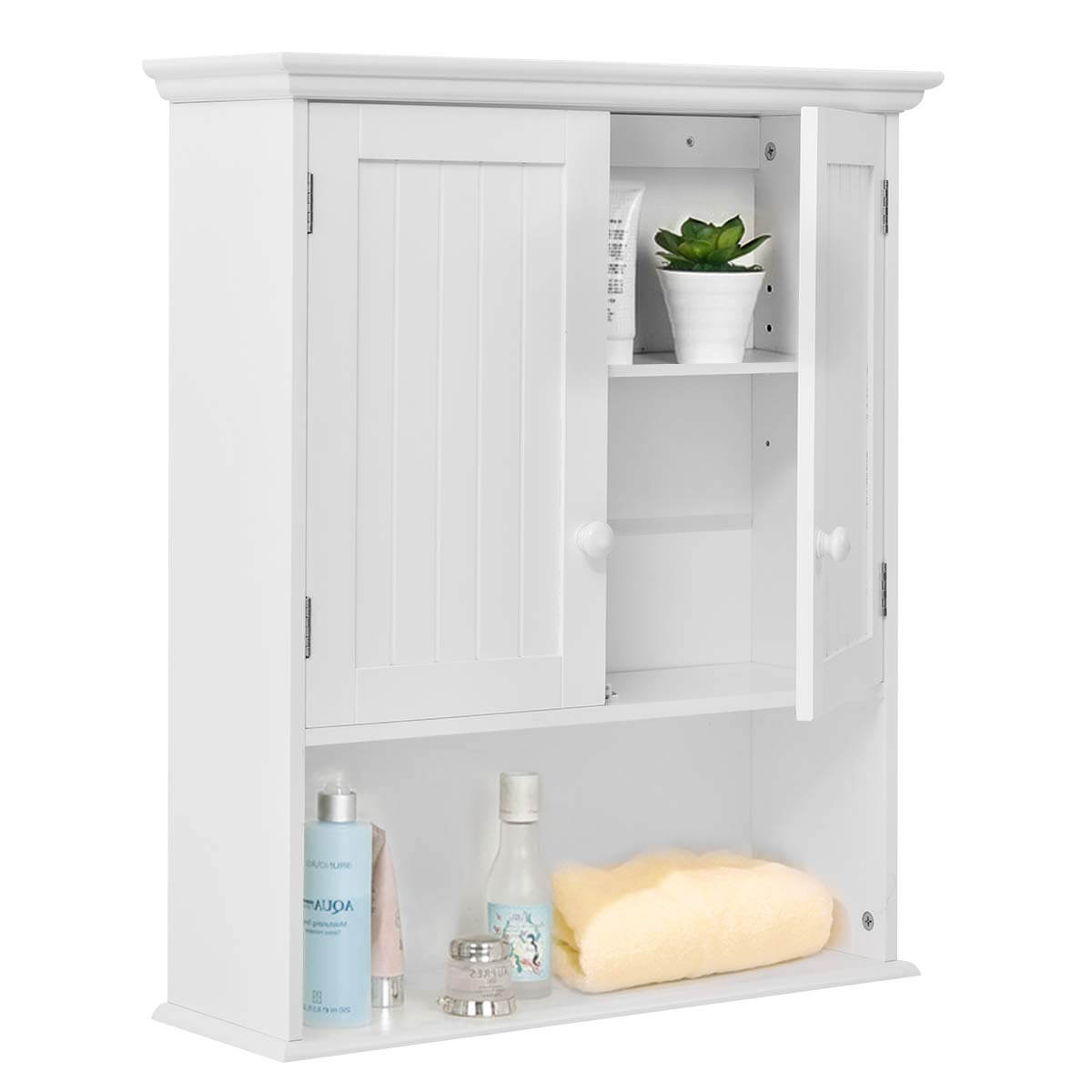 Small Laundry Room Medicine Style Cabinet