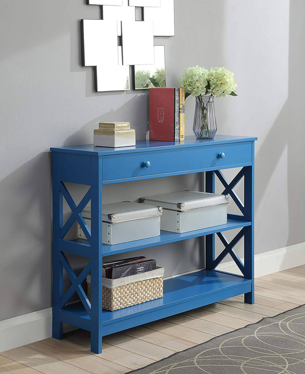 Vivid and Colorful Oxford Console Table