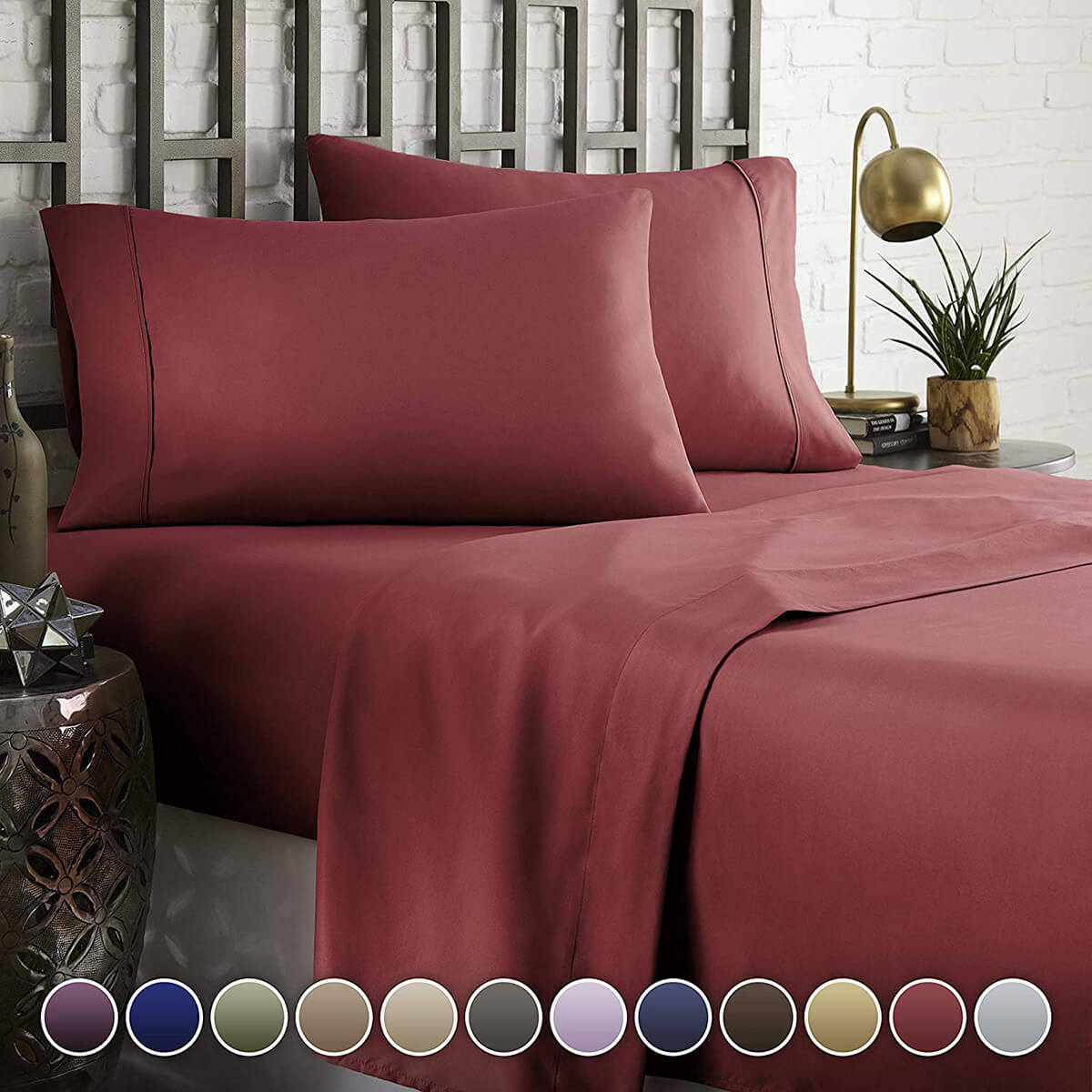 HC Collection Hotel Luxury Comfort Bed Sheet Set