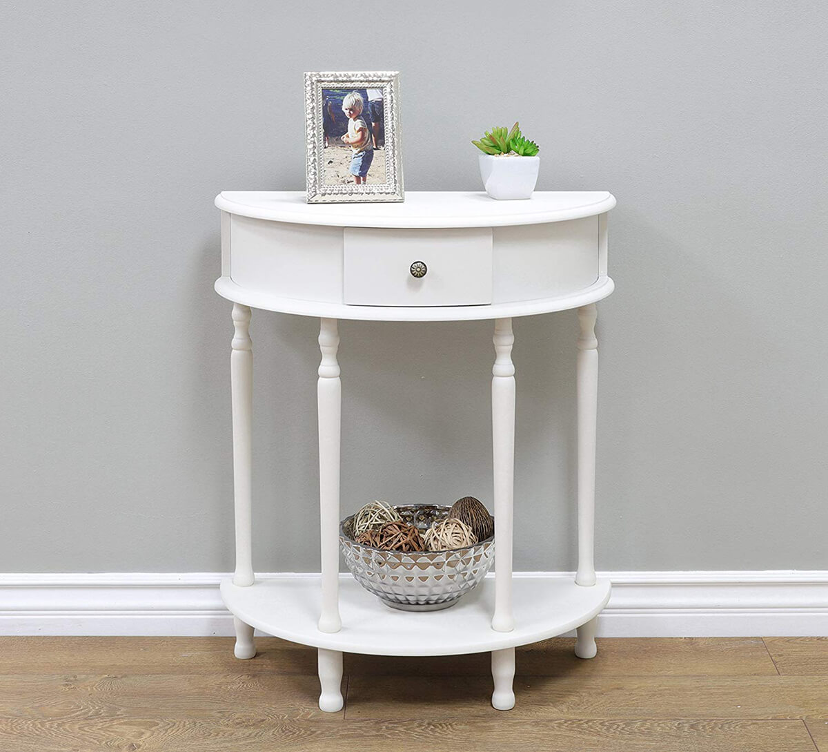 Canterbury End Table Evokes the 1800s