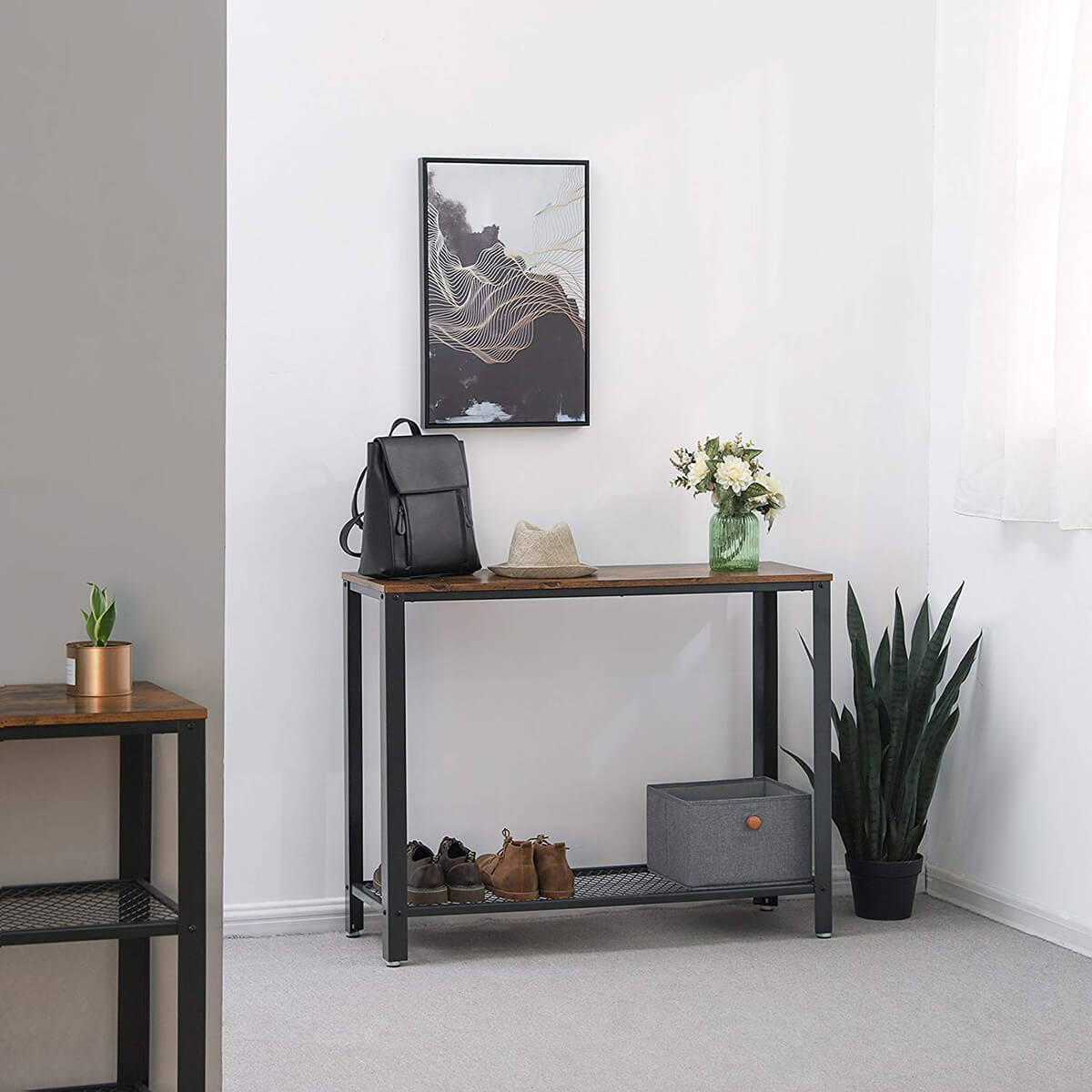 Have Industrial Elegance with this Console Table