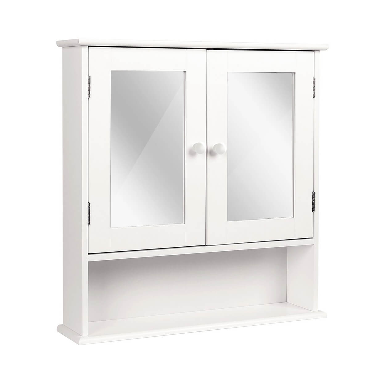 Medicine Cabinet with Mirrored Drawers