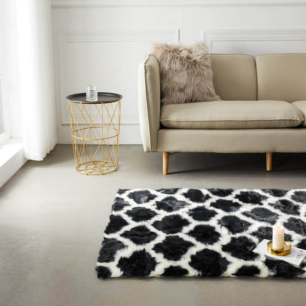 Ultra-Soft Sheepskin Area Rug
