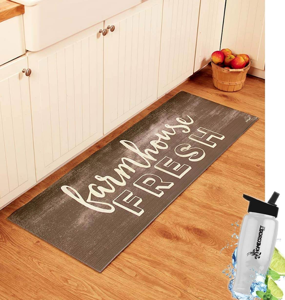 Farmhouse Fresh Rug for the Farmhouse Chic Kitchen
