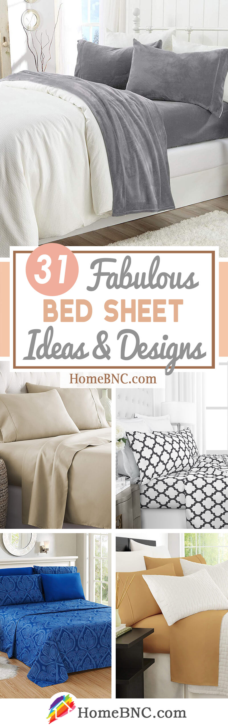 Picture of: 31 Best Bed Sheet Set Ideas And Designs For 2020