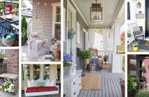 DIY Cheerful Porch Decor Ideas