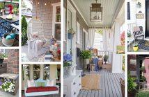 DIY Cheerful Porch Decor Ideas
