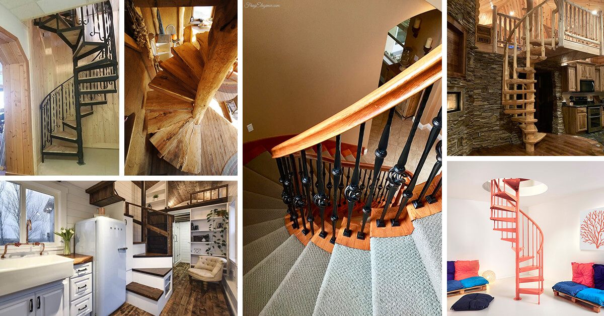 Picture of: 16 Best Spiral Staircase Ideas And Designs For 2020