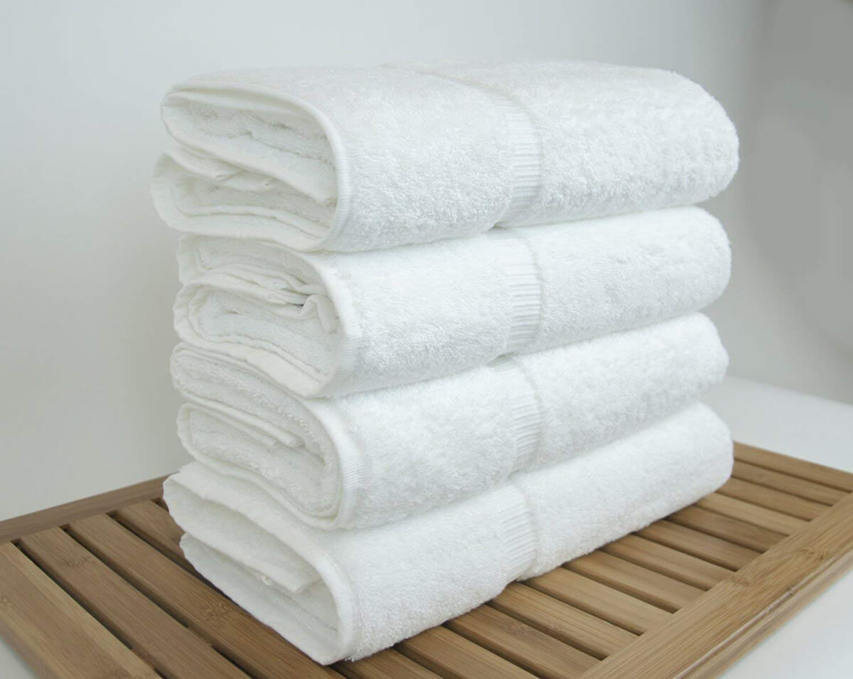 Luxury Hotel and Spa Bath Towels by Chakir Turkish Linens